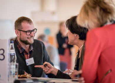 Diskussion bei der Bürgerkonferenz in Memmingen