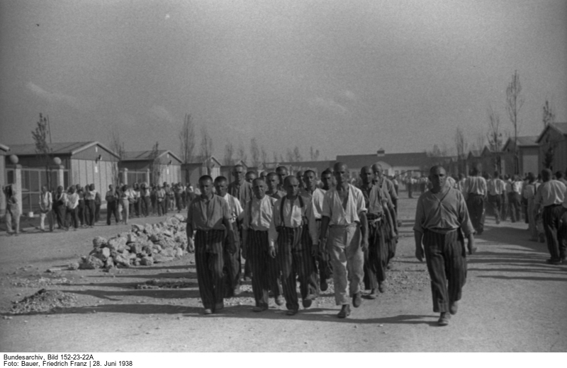 Häftlinge im Straflager.