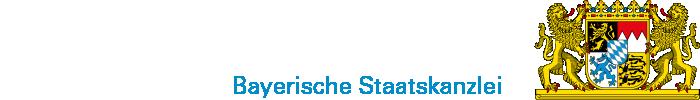 Logo und Wappen der Bayerischen Staatskanzlei