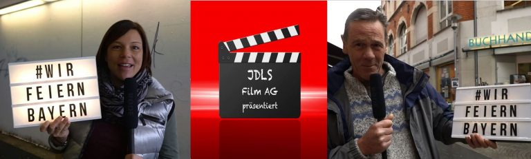 Filmprojekt #wirfeiernbayern der Film AG an der Aschaffenburger Johannes-de-la-Salle-Berufsschule