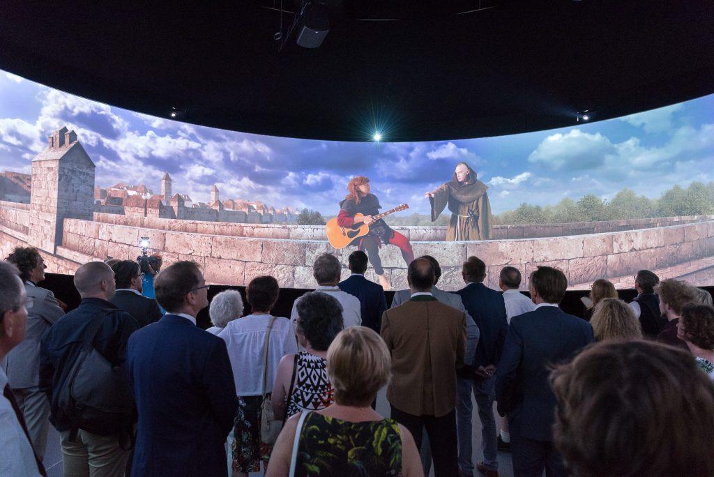 Publikumsmagnet im neuen Museum: Der 360° Panorama-Film mit Christoph Süß