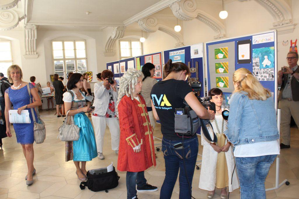 Ausstellung im Refektorium der Regierung der Oberpfalz.
